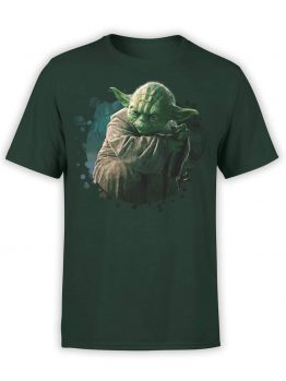"""Yoda T-Shirt """"There is no try"""". Star Wars T-Shirt. For Men."""