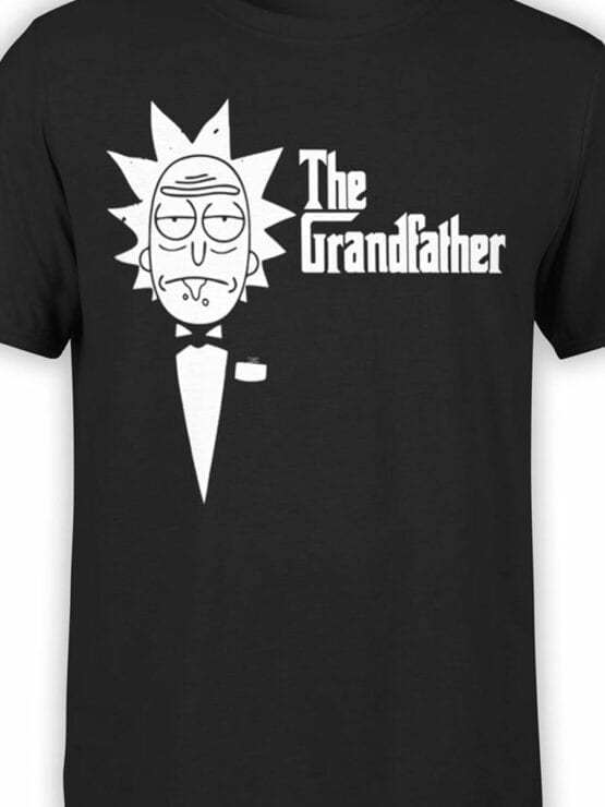 0144 Rick and Morty The Grandfather Front Color