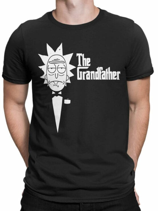 0144 Rick and Morty The Grandfather Front Man