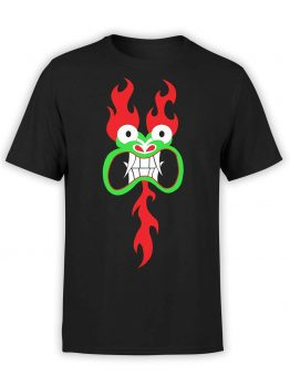 "Samurai Jack T-Shirt ""Aku"". Mens Shirts."