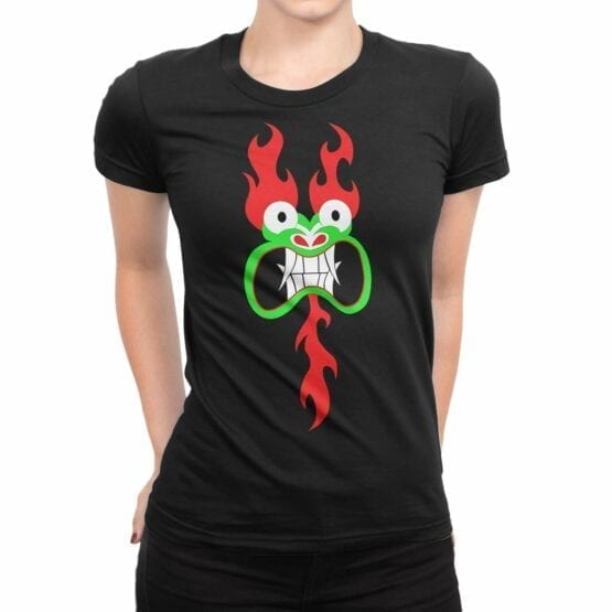 "Samurai Jack T-Shirt ""Aku"". Womens Shirts."