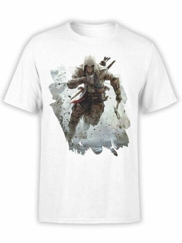 """Assassin's Creed T-Shirt """"Run"""". Mens Shirts."""