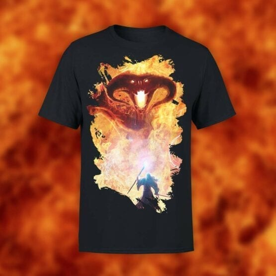 "Lord of the Rings T-Shirt ""Balrog"". Shirts."
