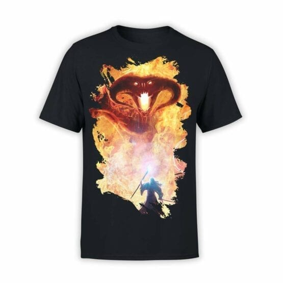 "Lord of the Rings T-Shirt ""Balrog"". Mens Shirts."