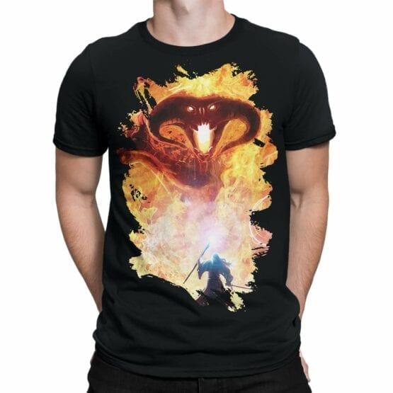 "Lord of the Rings T-Shirt ""Balrog"". Mens Shirts."