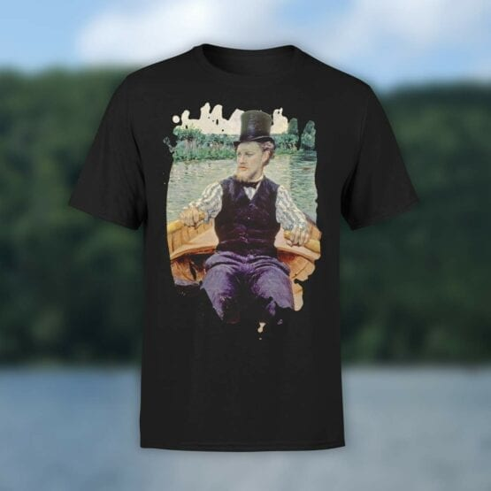 "Art T-Shirts ""Gustave Caillebotte. Boating Party"". Shirts."