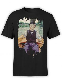 "Art T-Shirts ""Gustave Caillebotte. Boating Party"". Mens Shirts."
