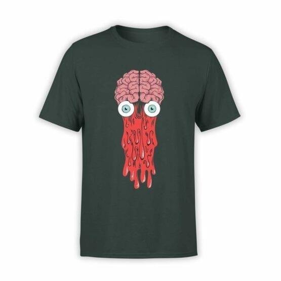 """Cool T-Shirts """"Brain"""". Mens Shirts."""