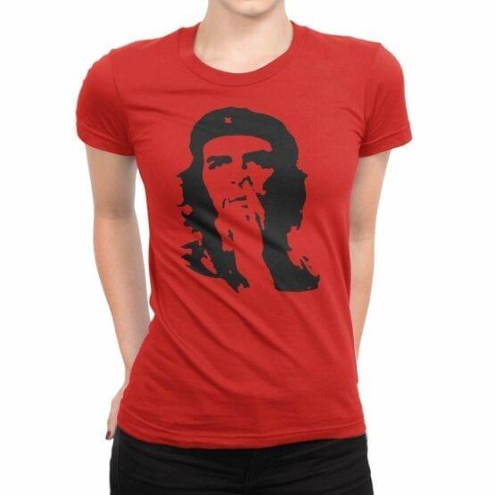 """Che Guevara T-Shirt """"Che Guevara Nose Picking"""". Womens Shirts."""