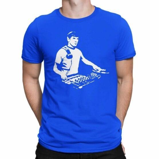 """Star Trek T-Shirt """"DJ Spock"""". Mens Shirts."""