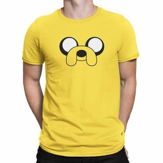 "Adventure Time T-Shirt ""Jake"". Mens Shirts."