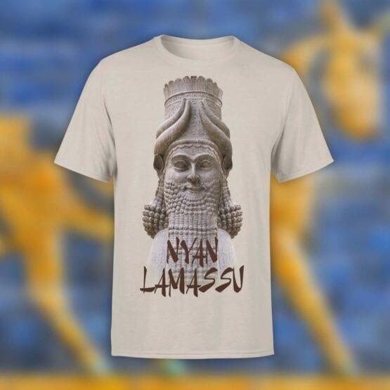 """Cool T-Shirts """"Nyan Lamassu"""". Shirts."""