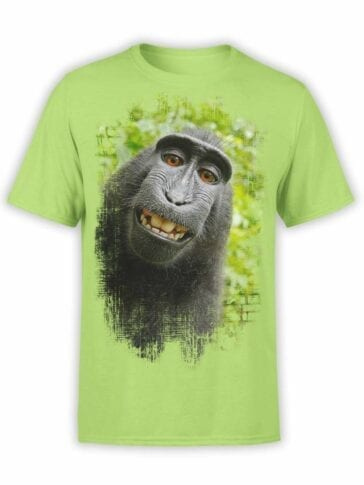 "Cool T-Shirts ""Monkey"". Mens Shirts."