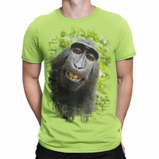 "Cool T-Shirts ""Monkey"". Mens Shirts."