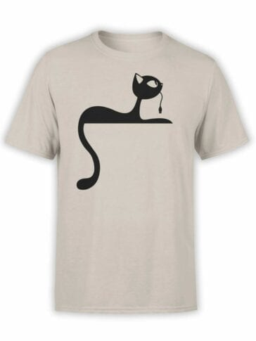 "Cat T-Shirts ""Mouse"". Mens Shirts."