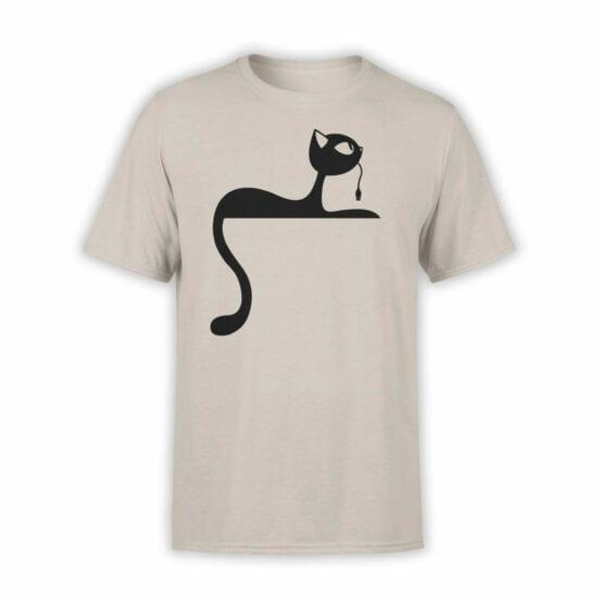 "Cat T-Shirts ""Mouse"". Mens Shirts."