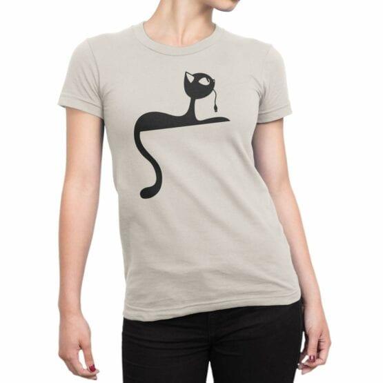 "Cat T-Shirts ""Mouse"". Shirts."