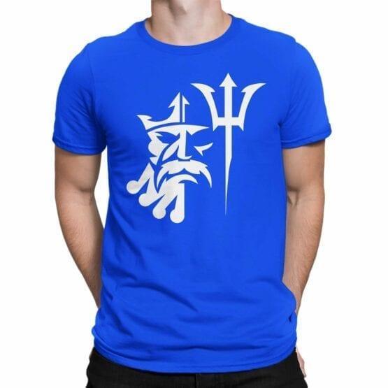 "Cool T-Shirt ""Poseydon"". Mens Shirts."