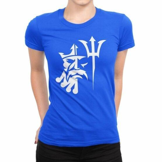 "Cool T-Shirt ""Poseydon"". Womens Shirts."