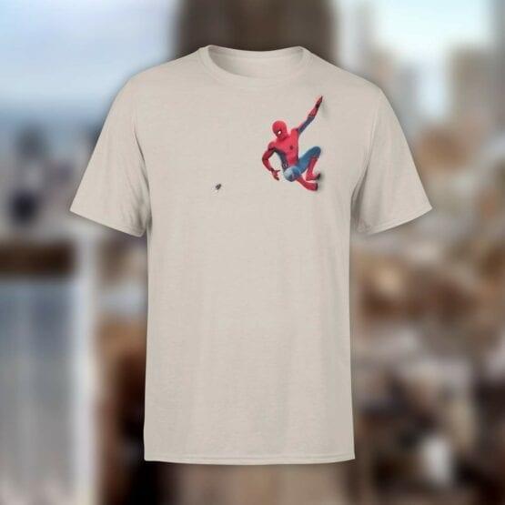 """Spiderman T-Shirt """"Fly"""". Mens Shirts."""