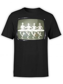 "Cool T-Shirts ""Swan Lake"". Mens Shirts."