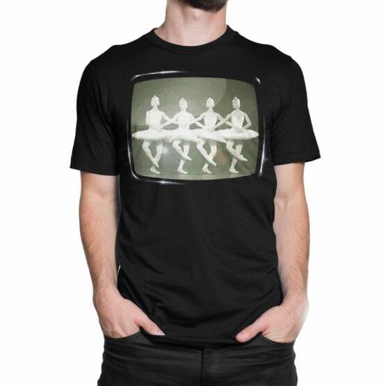"""Cool T-Shirts """"Swan Lake"""". Mens Shirts."""