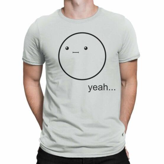 "Cool T-Shirts ""Yeah..."". Mens Shirts."