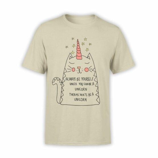 """Funny T-Shirts """"Be Unicorn"""" unisex t-shirts"""