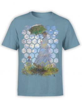 "Art T-Shirts ""Claude Monet. Madame Monet and Her Son"". Claude Monet T-Shirts."