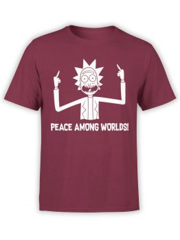 0167 Rick and Morty Rick Peace Front