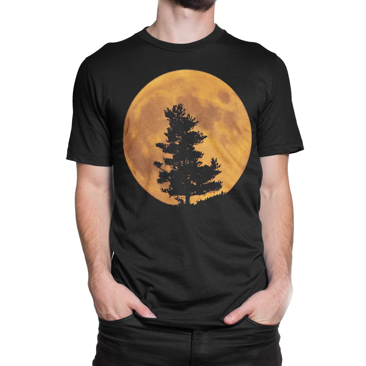 cool t shirts moon unisex t shirt 100 ultra cotton. Black Bedroom Furniture Sets. Home Design Ideas