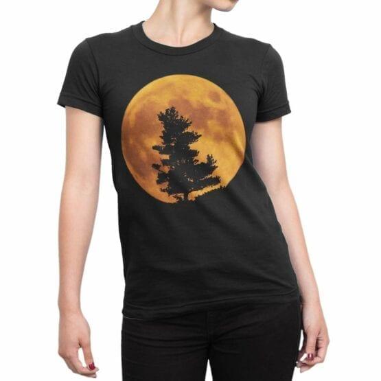 "Cool T-Shirts ""Moon"" Creative t-shirtsCool T-Shirts ""Moon"" Creative t-shirts"