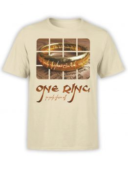 """Lord of the Rings T-Shirt """"One Ring"""". Cool T-Shirts."""