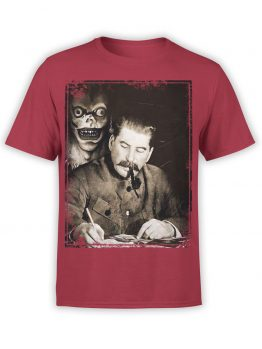 "Crazy Shirts ""Stalin"" Cool T-Shirts"