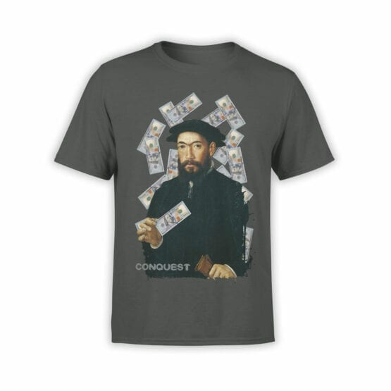 "Cool T-Shirts ""Rich Conquistador"" Creative t-shirts"