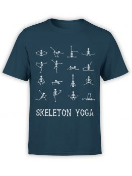"Cool T-Shirts ""Sceleton Yoga"" Creative t-shirts"