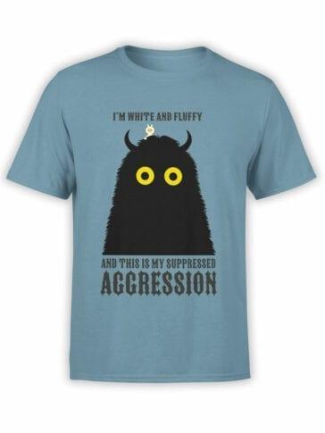 """Funny T-Shirts """"I'm fluffy"""" Cool T-Shirts"""