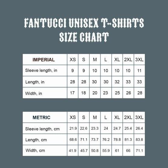 FANTUCCI T-SHIRT 3001 Size