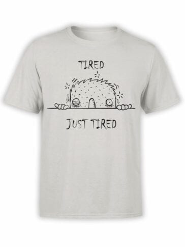 "Cool T-Shirts ""Tired"" Funny T-Shirts"