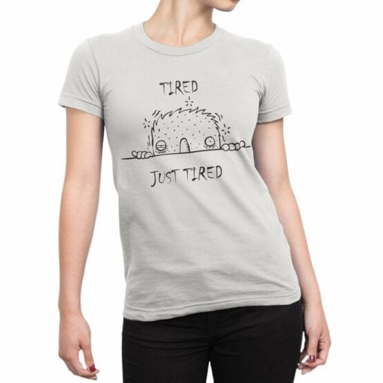 """Cool T-Shirts """"Tired"""" Funny T-Shirts"""