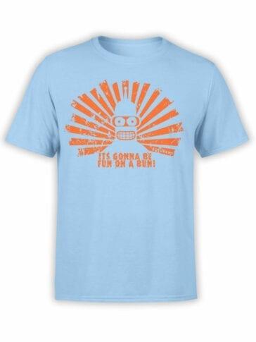 "Futurama T-Shirts ""Bender"". Cool Shirts."