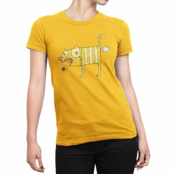 "Cat T-Shirts ""I Love Cats"" Funny T-Shirts"