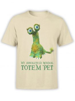 "Cool T-Shirts ""Totem Pet"". Funny T-Shirts."