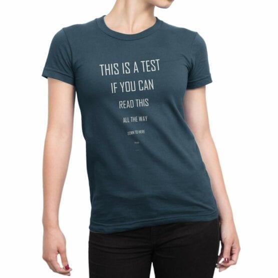 "Cool T-Shirts ""Test"". T-Shirts."