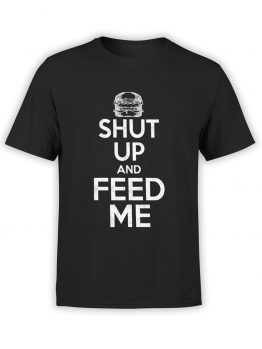 "Funny T-Shirts ""Feed Me"". Cool T-Shirts."