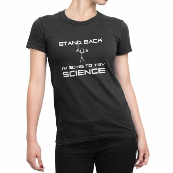 """Funny T-Shirts """"Science"""". Cool T-Shirts."""