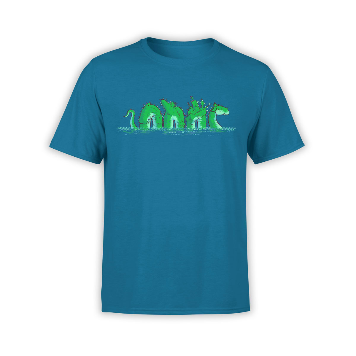 Funny t shirts loch ness unisex t shirt 100 ultra cotton for Comic t shirts online