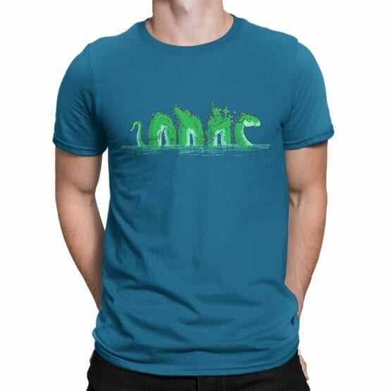 """Funny T-Shirts """"Loch Ness"""". Cool T-Shirts."""
