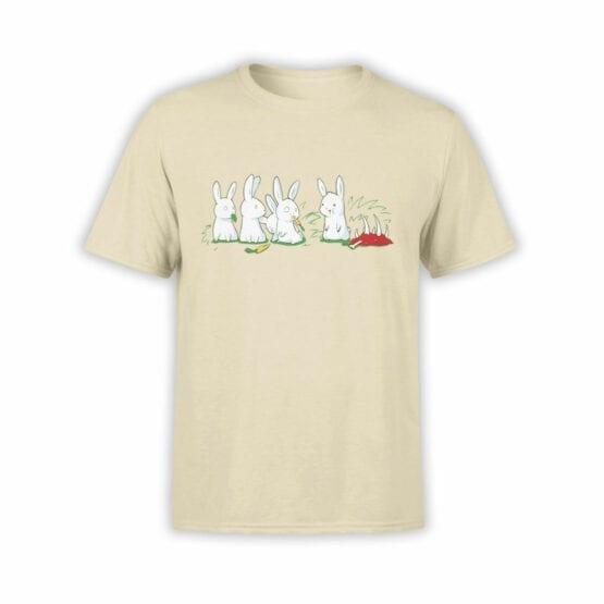 "Funny T-Shirts ""Rabbits"". Cool T-Shirts."