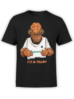 """Star Wars T-Shirt """"Admira Ackbar"""". Funny T-Shirts."""